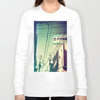 tokyo Long Sleeve T-shirts featuring TOKYO by lizbee