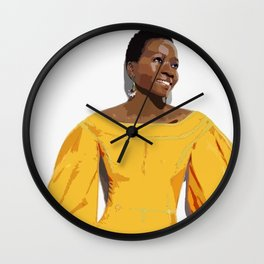 Danai Gurira 2 Wall Clock