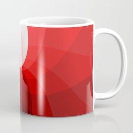 Monochromatic red Coffee Mug