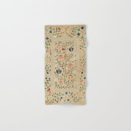 Uzbekistan Suzani Nim Embroidery Print Hand & Bath Towel