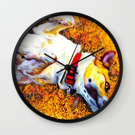 Dog-gone Cute! Wall Clock