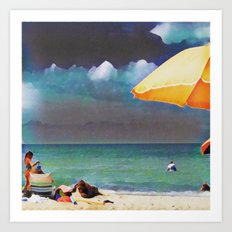 On the Michigan Shore #10 Art Print