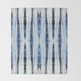 Nori Blue Throw Blanket