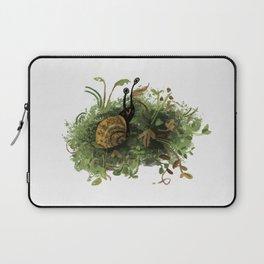 Mossy Snail Laptop Sleeve