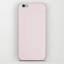 Bridal Rose Stripes iPhone Skin