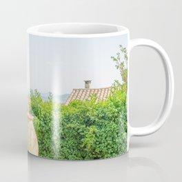 Mediterranean building photo print. Coastal city photography in France Coffee Mug