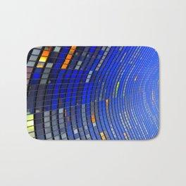 Big Blue Blocks Bath Mat
