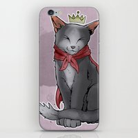 sith iPhone & iPod Skins featuring Cait Sith by poopbird