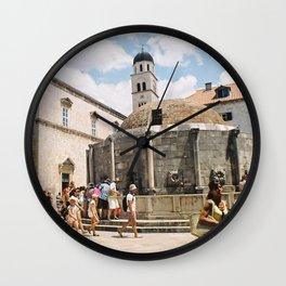 Dubrovnik I Wall Clock