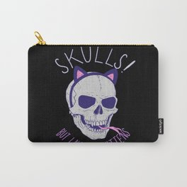 Skulls and Kittens Carry-All Pouch