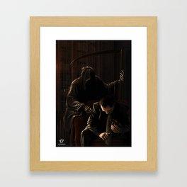 The Adviser Framed Art Print