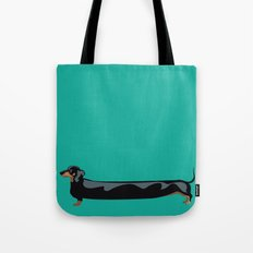 dachshund - wiener dog - i love my wiener Tote Bag