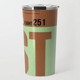 IST Istanbul Luggage Tag 2 Travel Mug