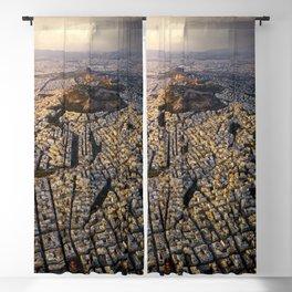 Ancient Athens Blackout Curtain