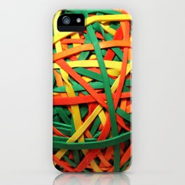 Rubberband Man iPhone Case
