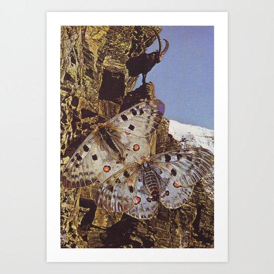 Collage #44 Art Print