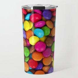 Candy Coated Chocolate Travel Mug