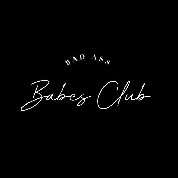 bad ass babes club Duvet Cover