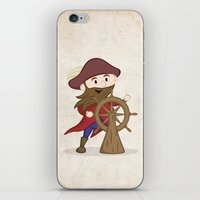 nautical iPhone & iPod Skins featuring Nautical by Kyle Anderson