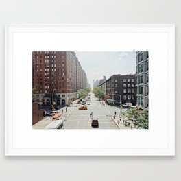 Streets of New York Framed Art Print