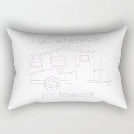 Airstream Art Rectangular Pillow