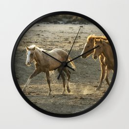 Sparked by Water Wall Clock