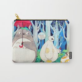 BB8 Baymax Cute human friends from movies  Carry-All Pouch