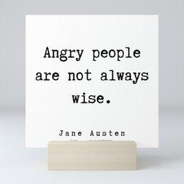 9  | Jane Austen Quotes | 190722 Mini Art Print
