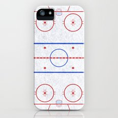 Hockey Rink iPhone (5, 5s) Slim Case