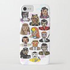 80s Cats iPhone 7 Slim Case