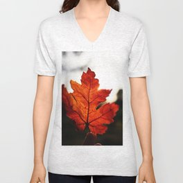 Fall Leaf 1 Unisex V-Neck