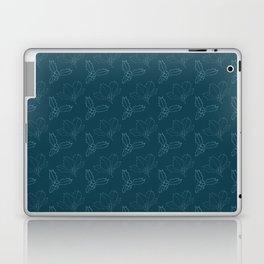 Holy Berries on Blue Laptop & iPad Skin