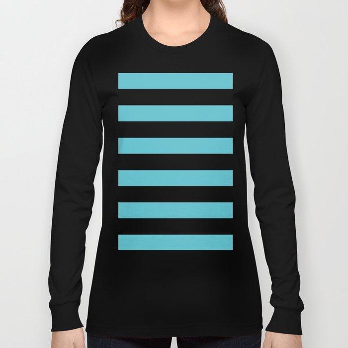 Simply Stripes in Seaside Blue Long Sleeve T-shirt