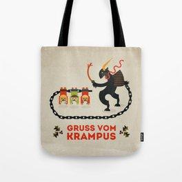 Gruss vom Krampus Tote Bag