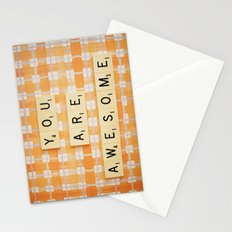 You Are Awesome Stationery Cards