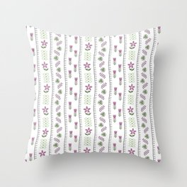 Classic Embroidery Throw Pillow