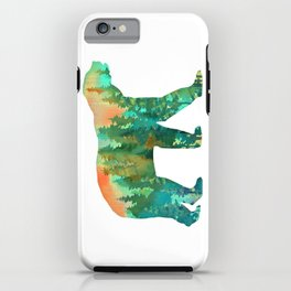 Forest Bear iPhone Case