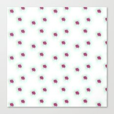 Watercolor´s dots Canvas Print