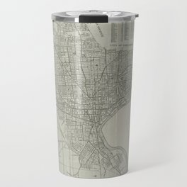 Vintage Map of Newark NJ (1920) Travel Mug