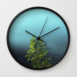 Shy and charming basil Wall Clock