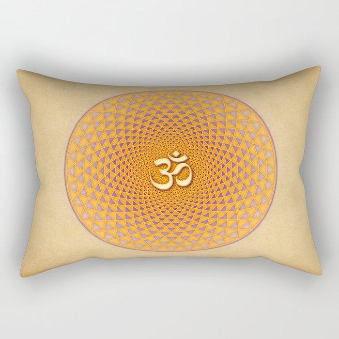 Lotus / Namaste Rectangular Pillow