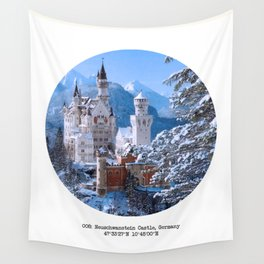 008: Neuschwanstein Castle Wall Tapestry