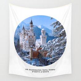 008: Neuschwanstein Castle Wall Tapestry