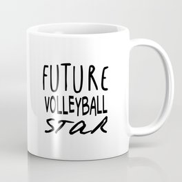 Future Volleyball Star Coffee Mug