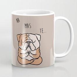 NAMASTE English Bulldog Coffee Mug