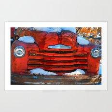 Chevrolet Classy Art Print
