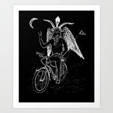 Hell Ride! Art Print