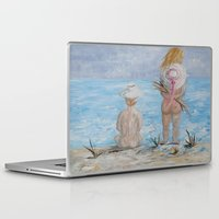hats Laptop & iPad Skins featuring Hats by EloiseArt