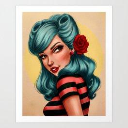 Natasha Art Print