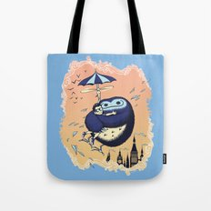High Flying Hugs Tote Bag